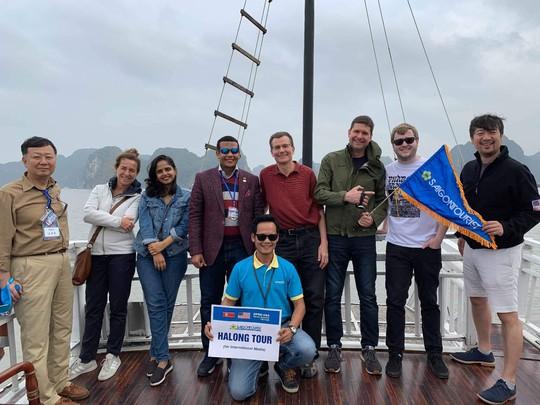 Hướng dẫn viên Lữ hành Saigontourist thể hiện xuất sắc tại Hội thi Hướng dẫn viên TP HCM - Ảnh 9.