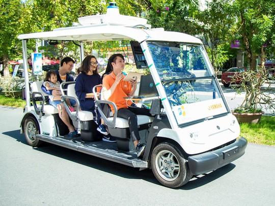 FPT thử nghiệm thành công xe tự hành trong khu đô thị - Ảnh 1.