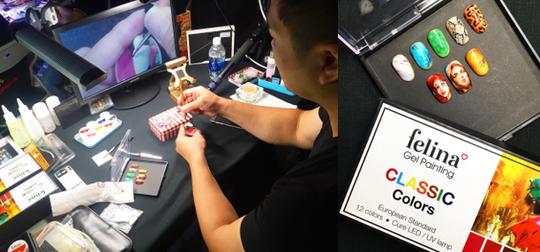 Cùng FELINA gặp gỡ Zhuang Johnson - nghệ sĩ vẽ nail đẳng cấp quốc tế - Ảnh 1.
