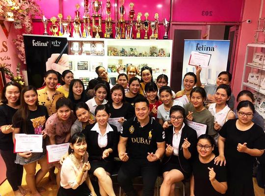 Cùng FELINA gặp gỡ Zhuang Johnson - nghệ sĩ vẽ nail đẳng cấp quốc tế - Ảnh 2.