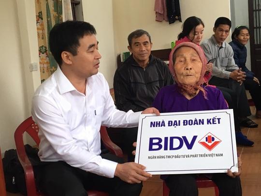 BIDV trao tặng nhà ở cho người nghèo tại Thái Bình - Ảnh 1.