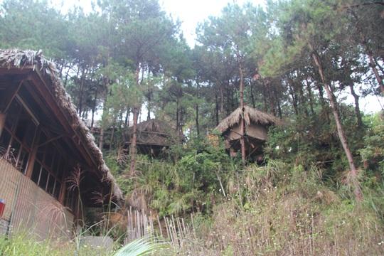 Cận cảnh công trình bí mật trên núi ở Lạng Sơn nghi là phim trường của nhóm người Trung Quốc - Ảnh 10.