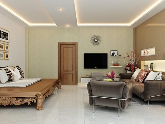 Mẫu phòng khách đẹp cho căn hộ chung cư - Ảnh 1.