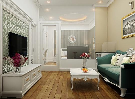 Mẫu phòng khách đẹp cho căn hộ chung cư - Ảnh 3.