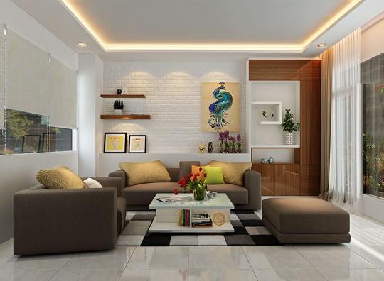 Mẫu phòng khách đẹp cho căn hộ chung cư - Ảnh 5.