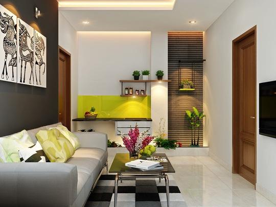 Mẫu phòng khách đẹp cho căn hộ chung cư - Ảnh 7.