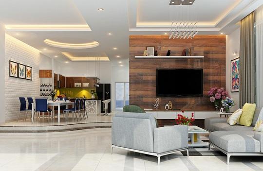 Mẫu phòng khách đẹp cho căn hộ chung cư - Ảnh 8.