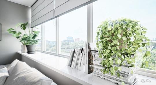 Căn hộ nhỏ sáng tạo với thiết kế đặc biệt biến phòng tắm thành trung tâm - Ảnh 4.