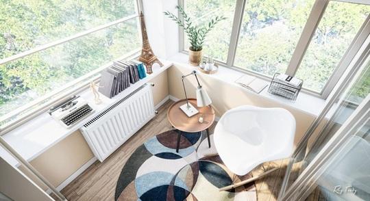 Căn hộ nhỏ sáng tạo với thiết kế đặc biệt biến phòng tắm thành trung tâm - Ảnh 6.