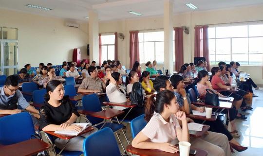 Phổ biến kiến thức sức khỏe cho nữ CNVC-LĐ - Ảnh 1.