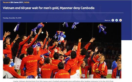 Truyền thông châu Á ca ngợi đẳng cấp vượt trội của U22 Việt Nam - Ảnh 2.