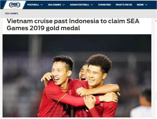 Truyền thông châu Á ca ngợi đẳng cấp vượt trội của U22 Việt Nam - Ảnh 1.
