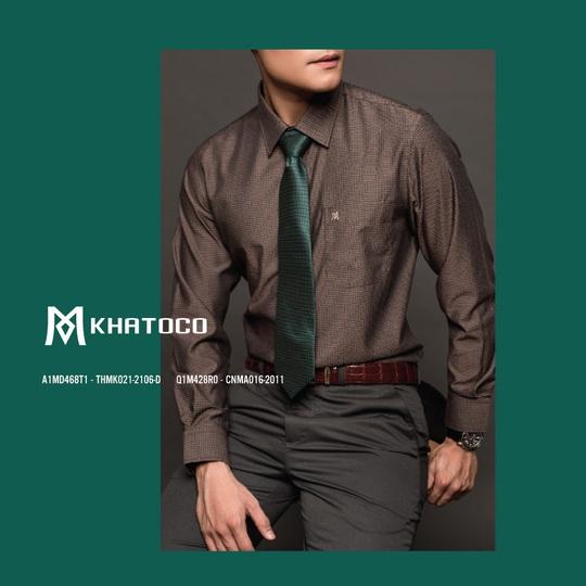 Thời trang Khatoco: Ghi điểm lịch lãm, phong thái sang trọng trong cuộc gặp cuối năm - Ảnh 6.