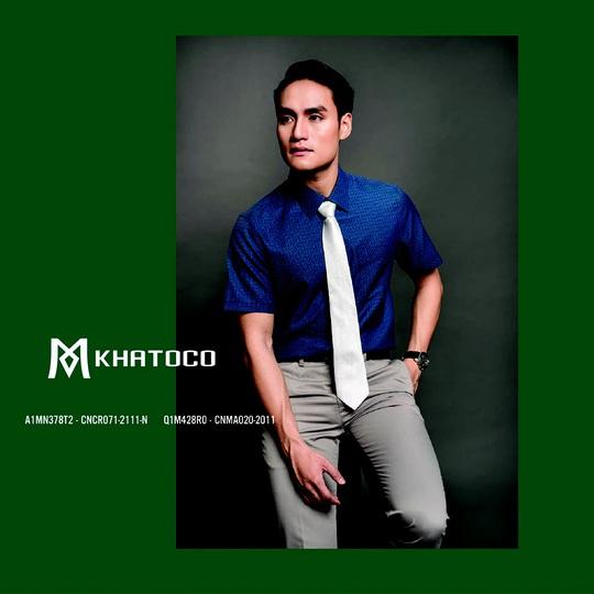 Thời trang Khatoco: Ghi điểm lịch lãm, phong thái sang trọng trong cuộc gặp cuối năm - Ảnh 3.