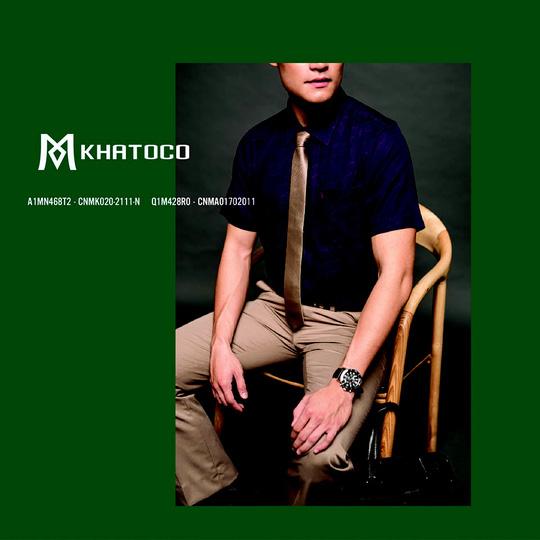 Thời trang Khatoco: Ghi điểm lịch lãm, phong thái sang trọng trong cuộc gặp cuối năm - Ảnh 2.