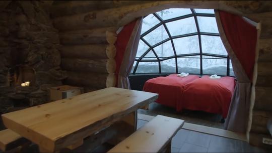 Nơi ngắm cực quang từ những căn lều thủy tinh - Ảnh 3.