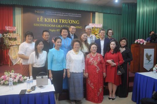 Khai trương showroom Nguyên Kim Jewelry tại TP HCM - Ảnh 2.