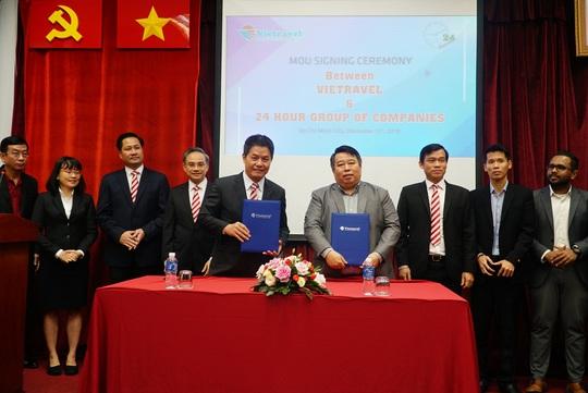 Vietravel hợp tác phát triển hàng không – du lịch với doanh nghiệp Myanmar - Ảnh 1.