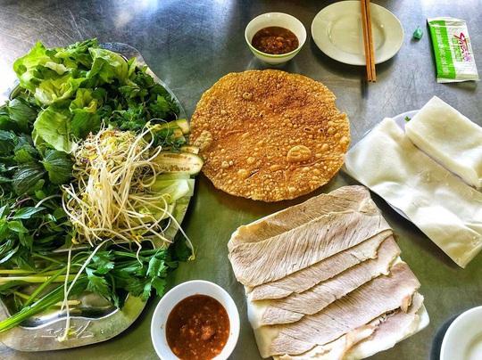 4 địa chỉ bánh tráng thịt heo ngon ở Đà Nẵng - Ảnh 11.