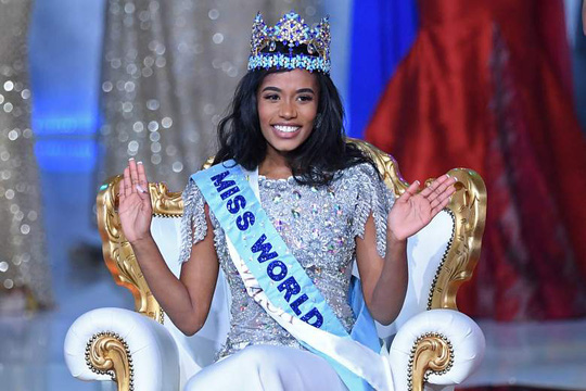 Nhan sắc Hoa hậu Thế giới 2019 người Jamaica gây tranh cãi - Ảnh 1.