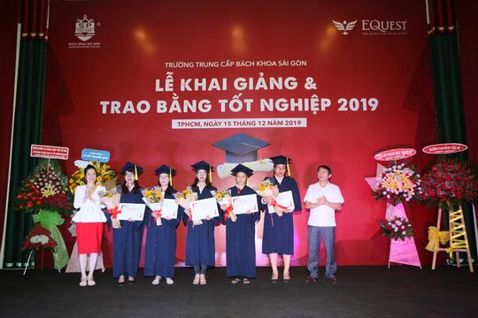 Nhiều cơ hội việc làm cho sinh viên Trường Trung cấp Bách Khoa Sài Gòn - Ảnh 1.