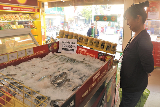 Thịt đội giá, bà nội trợ đổ xô đến Bách hóa Xanh săn cá nhập khẩu 49.000 đồng/kg - Ảnh 2.