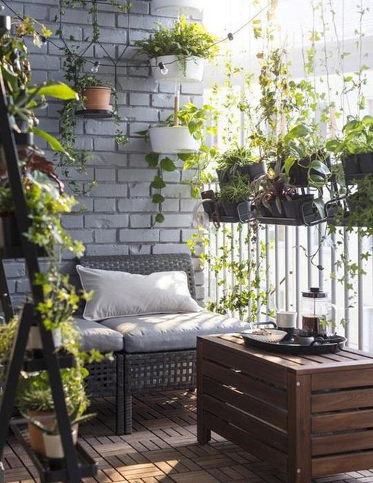 6 ý tưởng trang trí ban công chung cư đẹp, ai nhìn cũng mê mẩn - Ảnh 1.