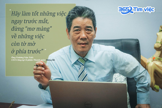 CEO Trương Văn Trắc - Người hái những trái ngọt chín đậm ở tuổi nghỉ hưu - Ảnh 2.