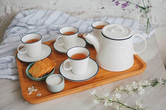 Thưởng trà và ngắm Hà Nội ngày đông - Ảnh 13.