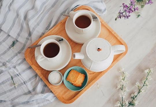 Thưởng trà và ngắm Hà Nội ngày đông - Ảnh 15.