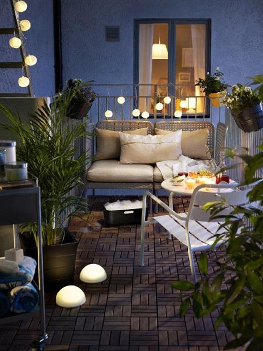 6 ý tưởng trang trí ban công chung cư đẹp, ai nhìn cũng mê mẩn - Ảnh 4.