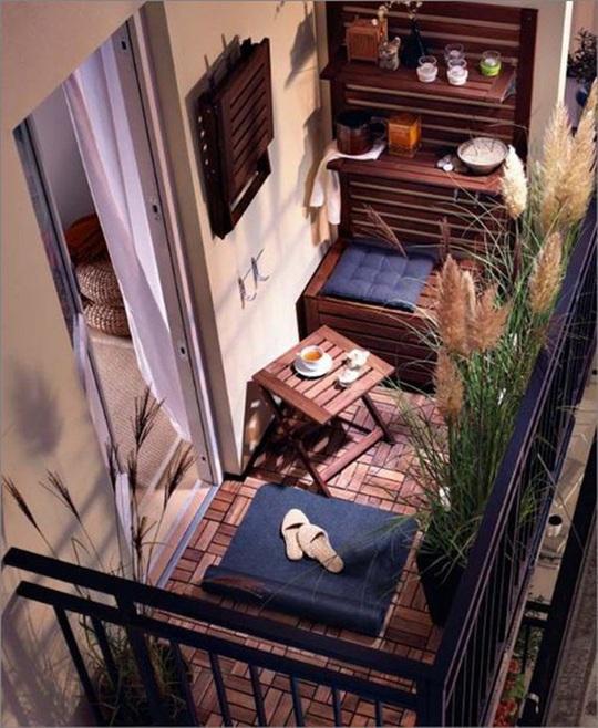 6 ý tưởng trang trí ban công chung cư đẹp, ai nhìn cũng mê mẩn - Ảnh 5.