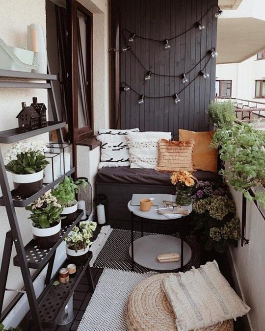 6 ý tưởng trang trí ban công chung cư đẹp, ai nhìn cũng mê mẩn - Ảnh 6.