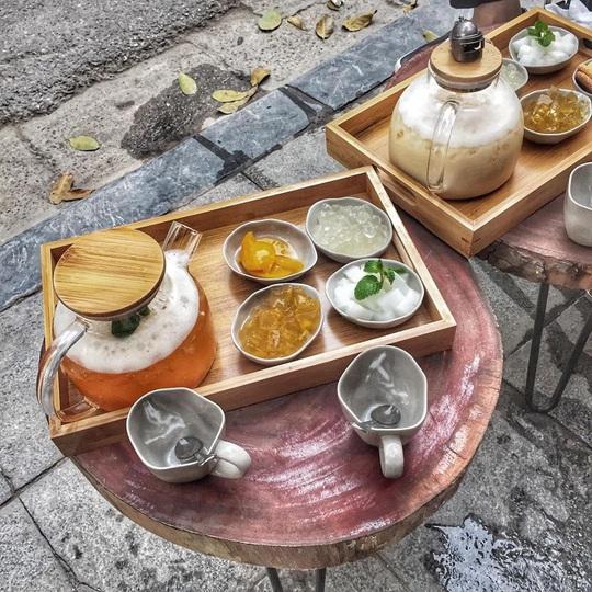 Thưởng trà và ngắm Hà Nội ngày đông - Ảnh 7.