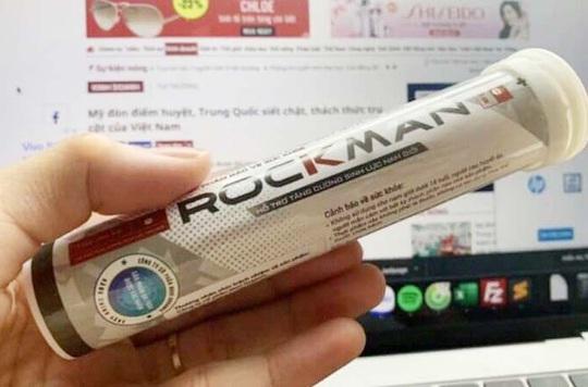 Thu hồi giấy xác nhận nội dung quảng cáo sản phẩm bảo vệ sức khỏe Rockman - Ảnh 1.