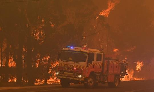 Cháy rừng bao vây Sydney, xe cứu hỏa tông trúng cây, 2 người hy sinh - Ảnh 5.
