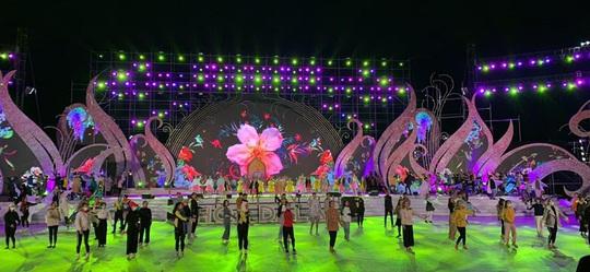 Mãn nhãn bữa tiệc hoa và ánh sáng ở lễ khai mạc Festival Hoa Đà Lạt - Ảnh 6.