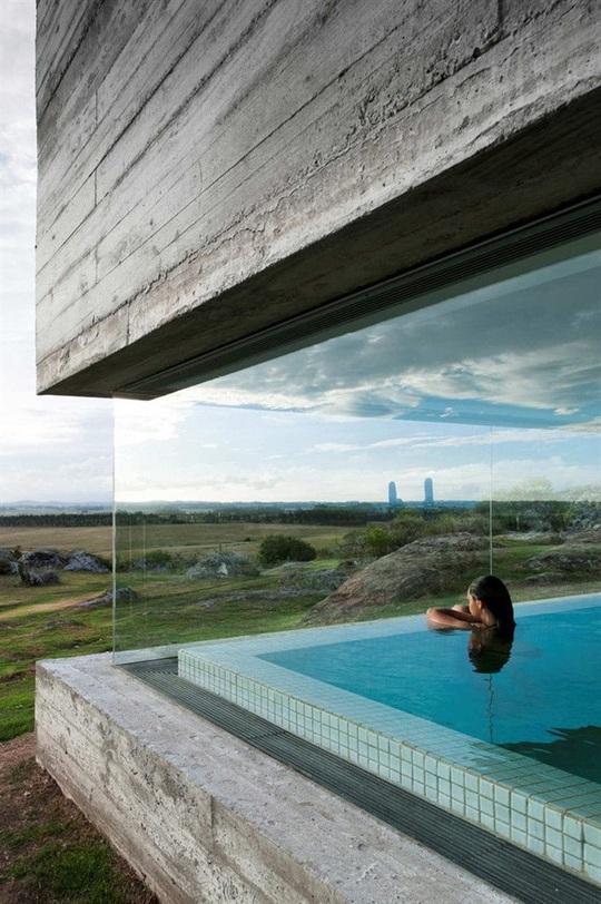 9 kiến trúc bể bơi trong nhà tuyệt đẹp - Ảnh 1.