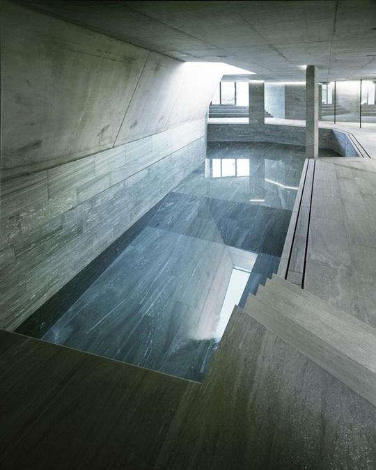 9 kiến trúc bể bơi trong nhà tuyệt đẹp - Ảnh 4.