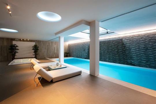 9 kiến trúc bể bơi trong nhà tuyệt đẹp - Ảnh 9.