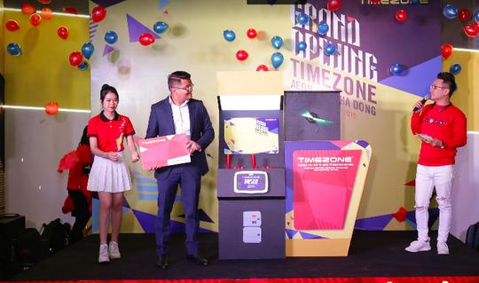 Timezone khai trương trung tâm giải trí lớn nhất tại Aeon Mall Hà Đông - Ảnh 2.