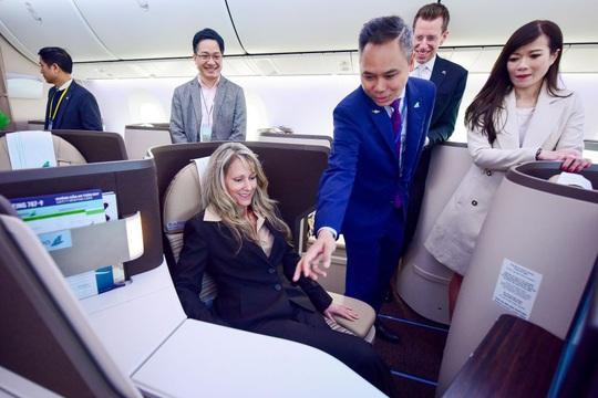 Siêu máy bay Boeing 787-9 Dreamliner mới nhận của Bamboo Airways sẽ bay đường bay nào? - Ảnh 9.