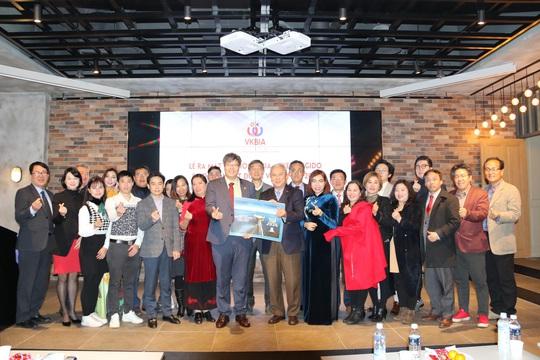Hiệp hội Doanh nhân và Đầu tư Việt-Hàn ra mắt chi hội tại Gyeonggido - Ảnh 1.