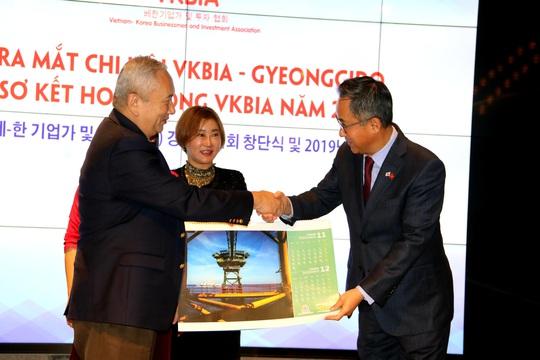 Hiệp hội Doanh nhân và Đầu tư Việt-Hàn ra mắt chi hội tại Gyeonggido - Ảnh 3.
