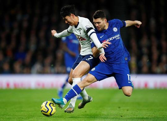 Son Heung-min bị đuổi, Tottenham gục ngã trận derby sân nhà trước Chelsea - Ảnh 2.