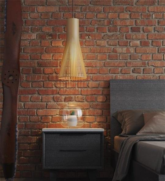 Những mẫu đèn chiếu sáng ấn tượng nhất dành cho phòng ngủ - Ảnh 4.