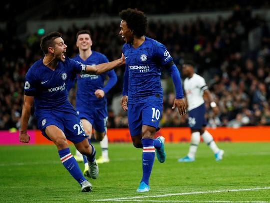 Son Heung-min bị đuổi, Tottenham gục ngã trận derby sân nhà trước Chelsea - Ảnh 4.