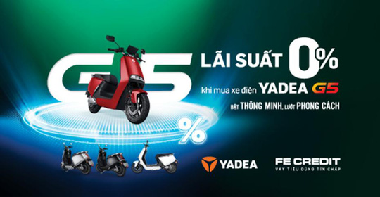 Vay tiền mua xe gắn máy điện, lãi suất 0% - Ảnh 1.