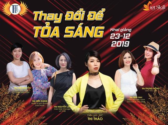 Diễn giả MC Thi Thảo tiếp tục khai giảng khóa huấn luyện CEO - Ảnh 1.