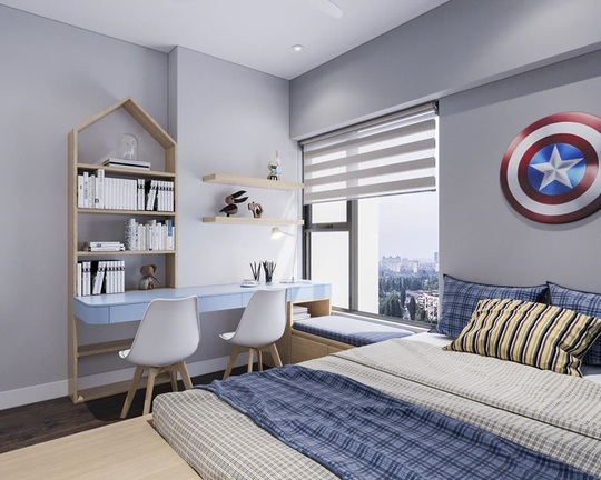 Mê mẩn với những mẫu thiết kế phòng ngủ dành riêng cho bé - Ảnh 11.